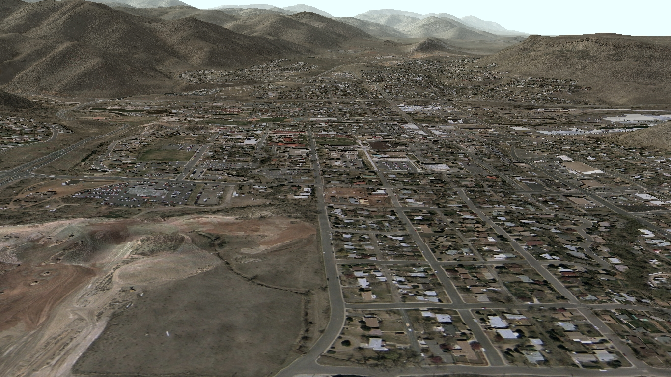 computer rendered image of golden colorado